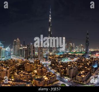 Dubai Downtown - Stock Photo