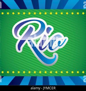 games rio design  vector illustration - Stock Photo