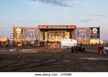 Full Throttle Saloon Stage - Stock Photo
