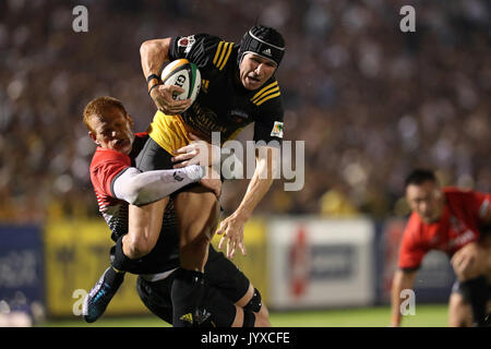Tokyo, Japan. 18th Aug, 2017. Matt Giteau () Rugby : Japan Rugby Top League 2017-2018 match between Canon Eagles - Stock Photo