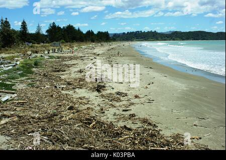 Tolaga Bay New Zealand - Stock Photo