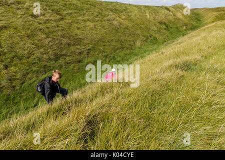 Lansdowne Monument on Cherhill downs Wiltshire UK - Stock Photo