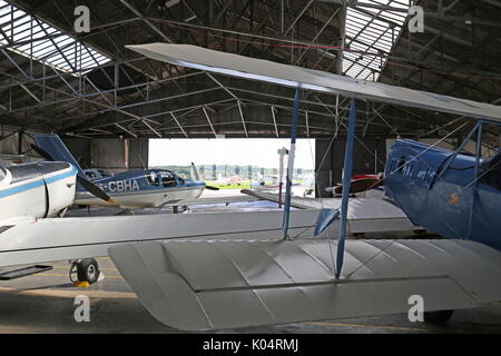 1932 Spartan Arrow 1, Redhill Aerodrome, Kings Mill Lane, Redhill, Surrey, England, Great Britain, United Kingdom, - Stock Photo