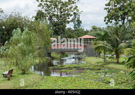 Taman Rekreasi Tasik Melati, Perlis, Malaysia - Tasik Melati is a wetland  famous for its lakes and its recreational - Stock Photo