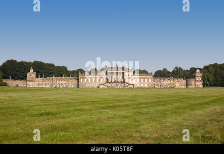 Wentworth Woodhouse, South Yorkshire, UK. 21st August 2017. Stately home currently being restored. - Stock Photo