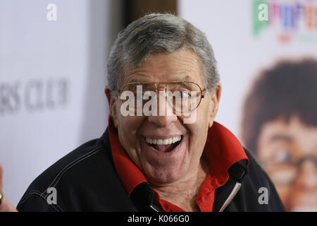 FILE: New York City, USA. 21st Aug, 2017. Date taken: 5th Jun, 2014. Jerry Lewis passes away. Jerry Lewis attends - Stock Photo