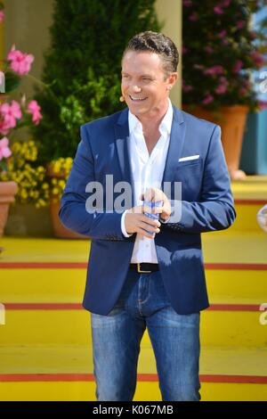 Rust, Germany, 20th August, 2017, Das Erste ARD TV Show 'Immer wieder Sonntags' Featuring Stefan Mross Credit: mediensegel/Alamy - Stock Photo