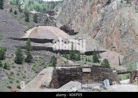 The Rio Grande, Creede, Colorado - Stock Photo