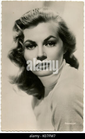 Anita Ekberg (1931  2015) Swedish actress who has  appeared in films in  various countries      Date: - Stock Photo