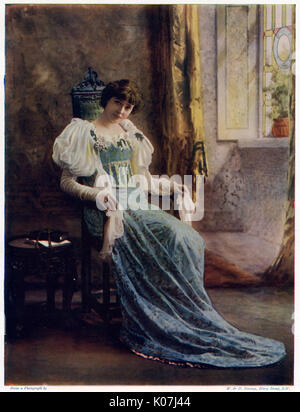Dorothea Baird (1875 - 1933), English stage and film actress.  She first appeared on stage  in 1894 as Iris in Oxford - Stock Photo