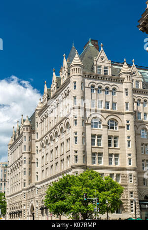 The Old Post Office Pavilion in Washington, DC. United States - Stock Photo