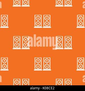 Music speakers pattern seamless - Stock Photo
