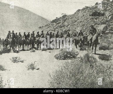 Colonel Maritz & his rebel commandos,  South Africa - Stock Photo