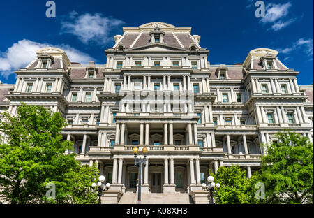The Eisenhower Executive Office Building, a US government building in Washington, D.C. - Stock Photo
