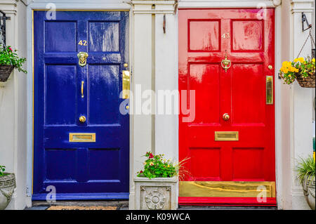 ... Brightly colored doors in Kinsale Ireland - Stock Photo & brightly colored doors Stock Photo Royalty Free Image: 47485 - Alamy