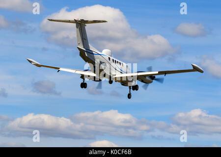 Beech B200T Super King Air N45N - Stock Photo