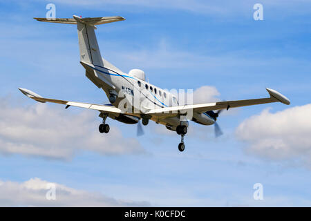 Beech B200T Super King Air N45N - Stock Photo