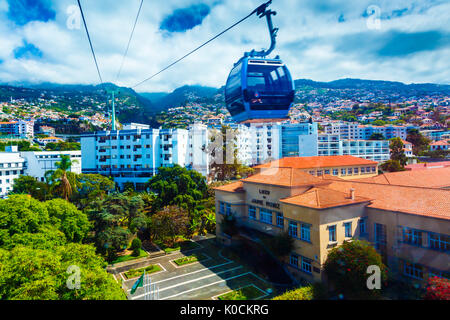 portugal madeira funchal aerial view stock photo 36861672 alamy. Black Bedroom Furniture Sets. Home Design Ideas