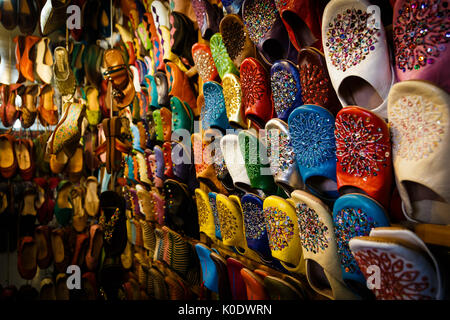 Oriental slippers - Stock Photo