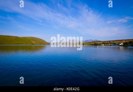 Loch Harport and Carbost Village.