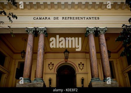 CAMARA DE REPRESENTANTES (HOUSE OF REPRESENTATIVES), CALLE DE LOS OFICIOS,  capital Havana in Cuba,