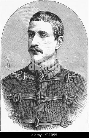 NAPOLEON, PRINCE IMPERIAL (1856-1879) son of Napoleon III killed in the Anglo-Zulu War of 1879. - Stock Photo