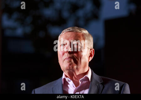 Edinburgh, Scotland 22nd August. Day 11 Edinburgh International Book Festival. Pictured: Alan Johnson, British Labour - Stock Photo