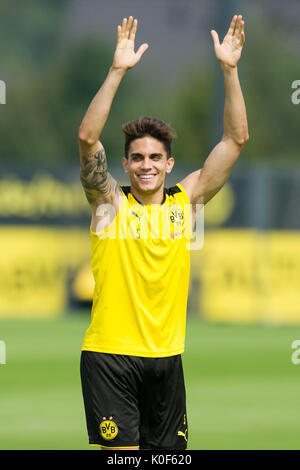 Marc BARTRA (DO) hat den Wettbewerb gewonnen, Fussball 1. Bundesliga, Training, Borussia Dortmund (DO) am 22.08.2017 - Stock Photo