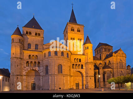 High Cathedral and Church of Our Lady, Trier, Moselle Valley, Rhineland-Palatinate, Germany - Stock Photo