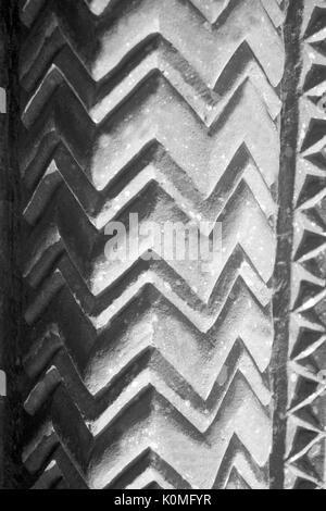 old vintage photo of wall, fatehpur sikri, Agra, uttar Pradesh, India, Asia 1900s - Stock Photo