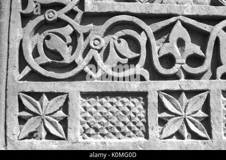 old vintage photo of wall, fatehpur, Agra, uttar Pradesh, India, Asia 1900s - Stock Photo