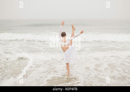 Dancing in the Waves - Stock Photo