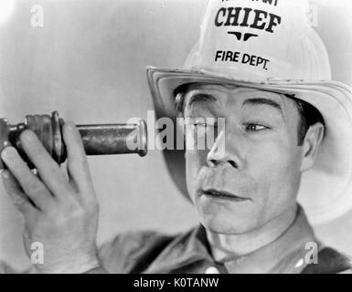 JOE E. BROWN FIREMAN SAVE MY CHILD (1932) - Stock Photo