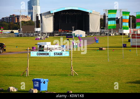 Southsea, UK. 24th August, 2017. Victorious Festival in Southsea August Bank Holiday Weekend 2017 Credit: FSM Photography/Alamy - Stock Photo