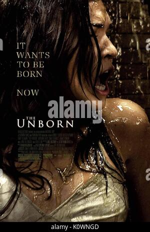 ODETTE YUSTMAN POSTER THE UNBORN (2009) - Stock Photo