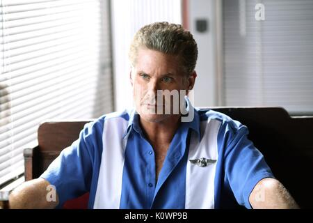 DAVID HASSELHOFF SHARKNADO 3: OH HELL NO! (2015) - Stock Photo