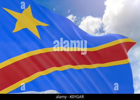 Shape Of The Country Of The Democratic Republic Of Congo Stock - Congo independence day