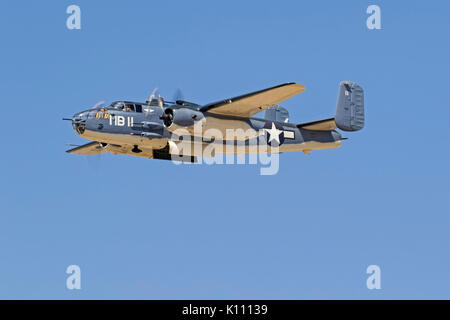 Airplane Marine PBJ version B-25 Mitchell - Stock Photo