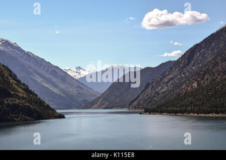 Seton Lake, British Columbia, West-Canada - Stock Photo