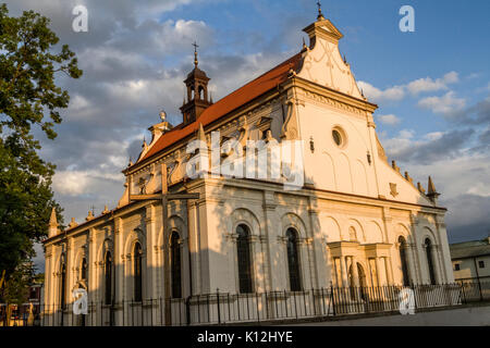 Innenarchitektur Renaissance cathedral in zamosc poland europe unesco heritage site stock