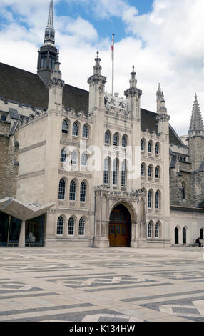 Guildhall in the City of London - Stock Photo