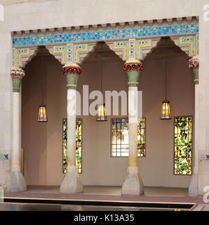 Architectural Elements from Laurelton Hall, Oyster Bay, New York MET DP131444 - Stock Photo