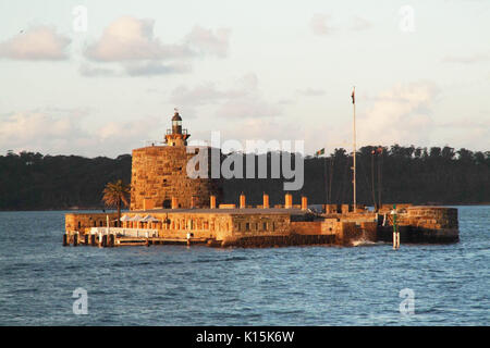 Fort Denison, Sydney Harbour. - Stock Photo