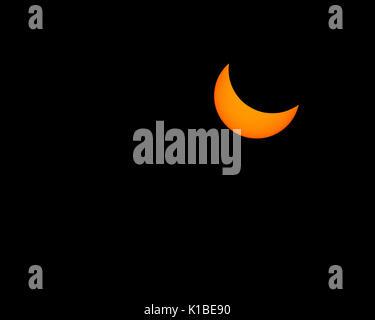 Total Solar Eclipse - Stock Photo