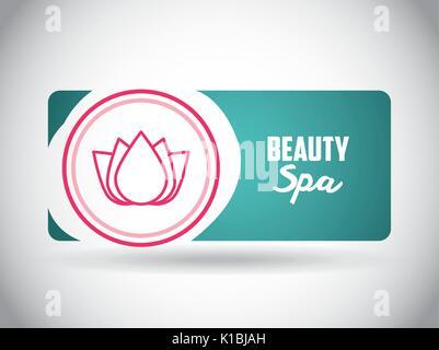beauty spa design  - Stock Photo