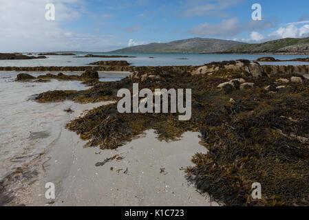 Eriksay Beach, Outer Hebrides - Stock Photo
