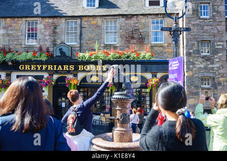 Edinburgh, Scotland, UK. 26th August, 2017. At the end of the last week of the 70th Anniversary of the Edinburgh - Stock Photo