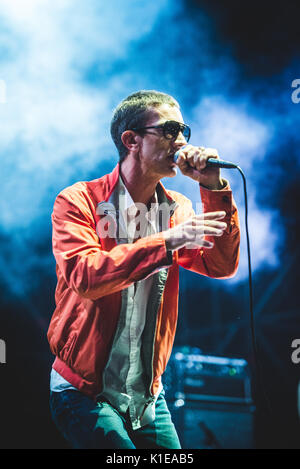 Torino, Italy. 26th Aug, 2017: Richard Ashcroft performing live on stage at the TODays Festival in Torino Credit: - Stock Photo