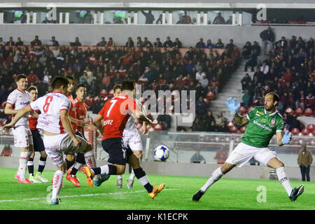 Buenos Aires, Argentina. 26th August, 2017. Martin Benitez of Independiente during the match between Independiente - Stock Photo