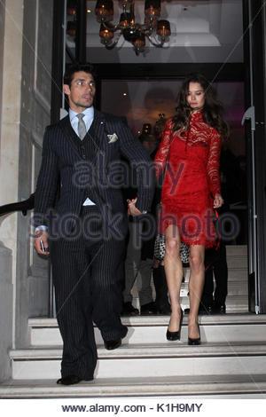 David Gandy And Sarah Ann Macklin Harper S Bazaar Women Of The Year Stock Photo 67753293 Alamy